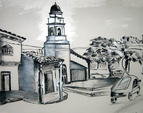 Marina Suarez Arte y Pintura Santa Cruz BOLIVIA